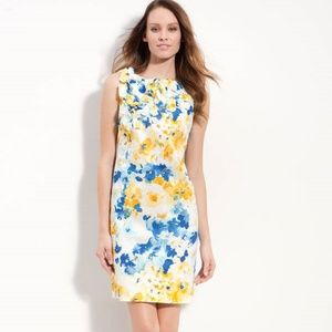 NEW Muse Cotton Floral Sleeveless Dress